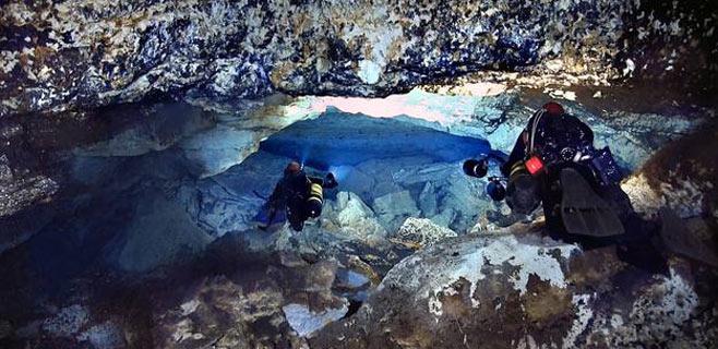 El GOB lleva a la Fiscalía un vertido de aguas residuales en la Cova del Dolç