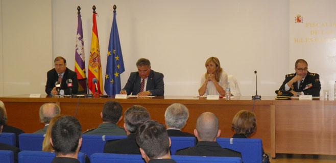 La Fiscalía de Balears homenajea a los policías de Delincuencia Económica