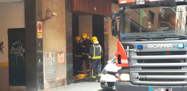 Incendio en un piso de Bons Aires