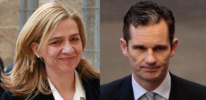 Urdangarin y la infanta ingresan en el juzgado de Castro 2.369.272,50 euros