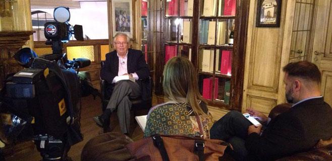 Fernando Jáuregui presenta en Palma su último libro