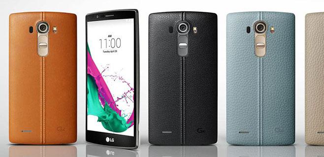 LG G4 apuesta por la cámara y la curva