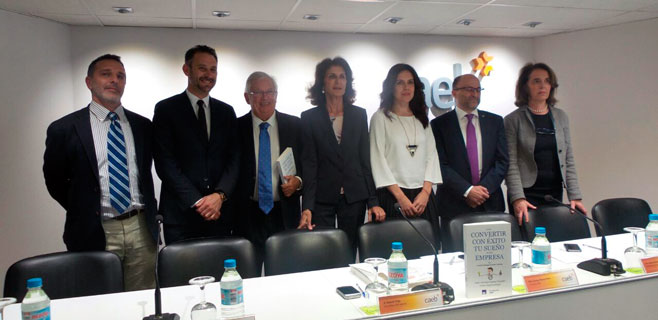Jáuregui presenta en Palma su libro para emprendedores