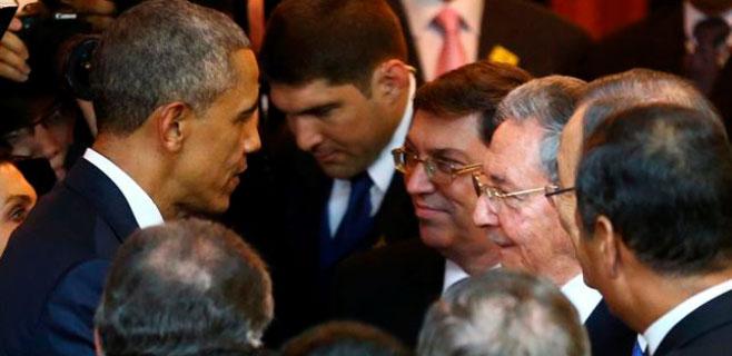 Estados Unidos y Cuba se dan la mano medio siglo después