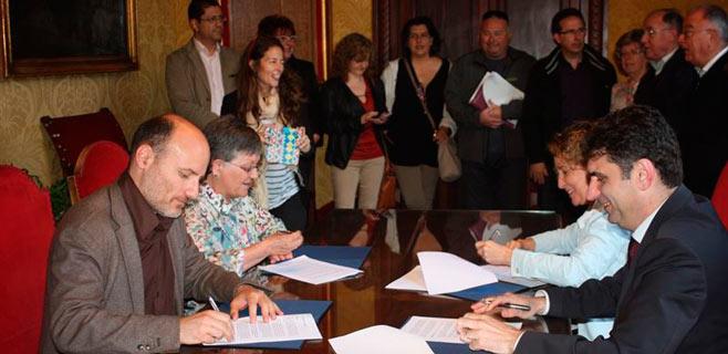 Los grupos municipales de Cort pactan para la inclusión social en Palma