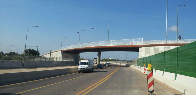 El Consell abre al tráfico el puente que une Son Ferriol y el Pla de Na Tesa