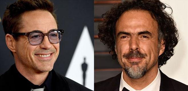 Robert Downey Jr. se mofa de González Iñárritu