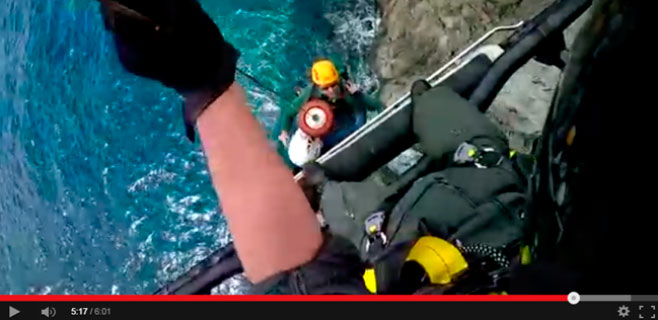 La Guardia Civil realizó 6 salidas de rescate en la Serra en Semana Santa