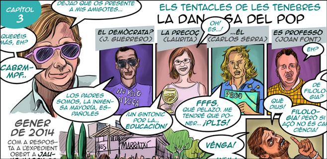 L'Assemblea de Docents saca nuevo comic contra la política educativa del PP