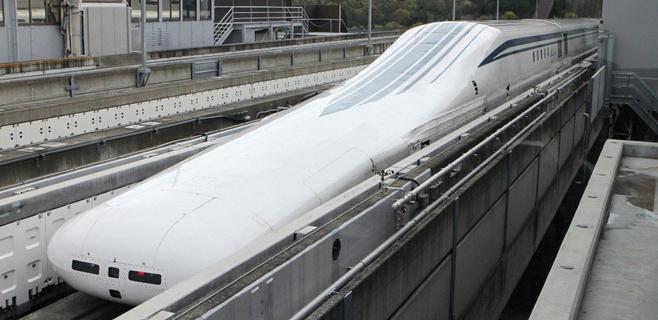 Un tren japonés bate record de velocidad con 603 km/h