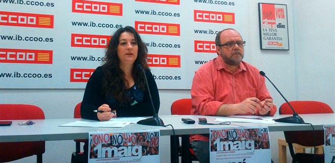 CCOO pide al futuro Govern educación y sanidad públicas y de calidad