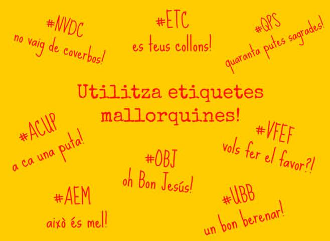 Hashtags marca #Mallorca