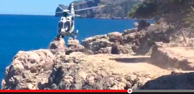 Tercer accidente muy grave en el camí dels Pintors de Deià en un mes