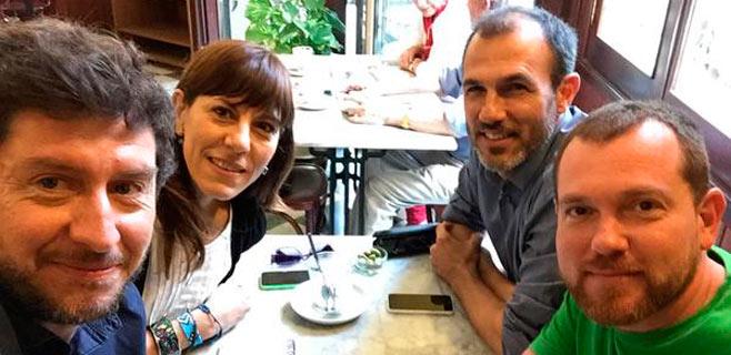 Més y Podem escenifican su primer encuentro sin presencia del PSIB