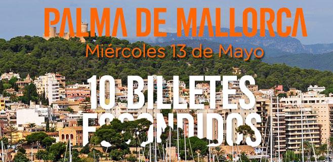 easyJet esconde 10 sobres con vuelos gratis en Palma