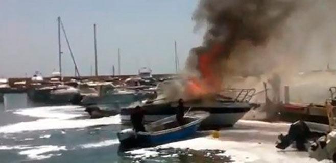 El Supremo absuelve a Marina Botafoc por el incendio de seis yates en 2005