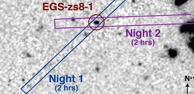 Descubierta la galaxia más lejana a 13.000 millones de años luz