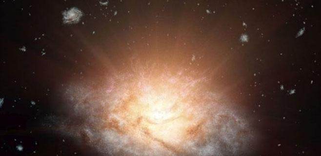 La NASA descubre la galaxia más luminosa del universo