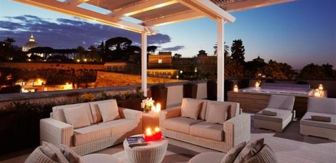 El Gran Meliá Roma es el mejor hotel urbano