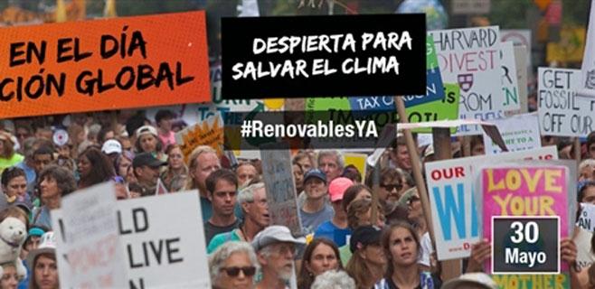 Greenpeace realizará un flashmob en Palma para exigir energías renovables