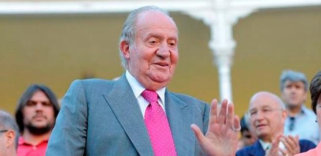 Don Juan Carlos vuelve a los toros un año después