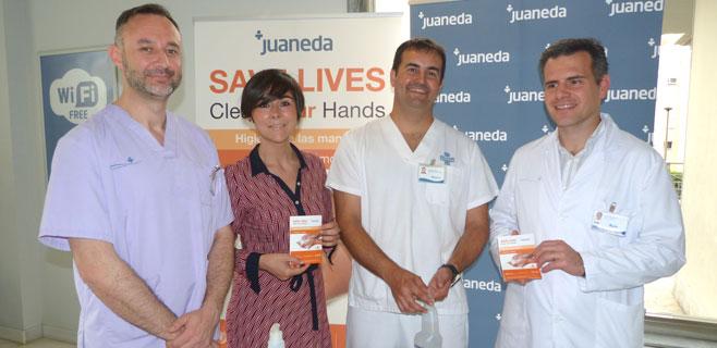 Juaneda se suma a la campaña