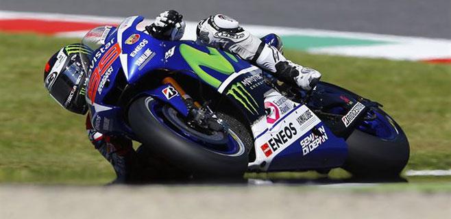 Lorenzo saldrá tercero en Alemania