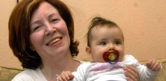 Una madre alemana tiene cuatrillizos a los 65 años
