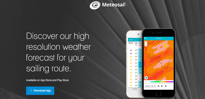 Meteosail, predicciones meteorologicas de alta resolución en tu móvil