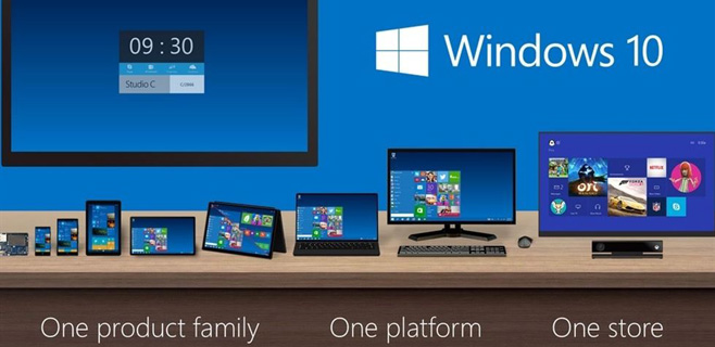 Windows 10 tendrá hasta 7 versiones diferentes
