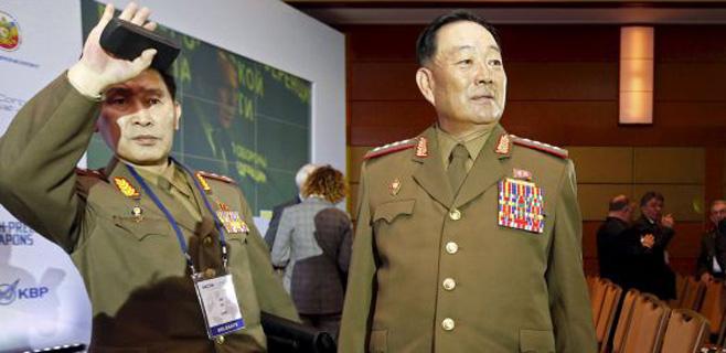Corea del Norte ejecuta a su ministro de defensa por dormirse
