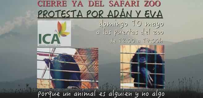 Convocada para este domingo una concentración de protesta frente al zoo de Sa Coma