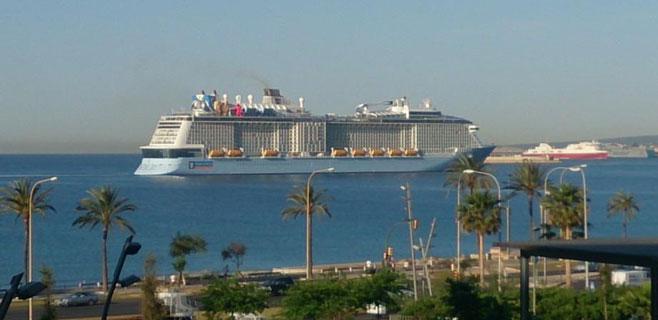El Quantum of the Seas ya está en Palma