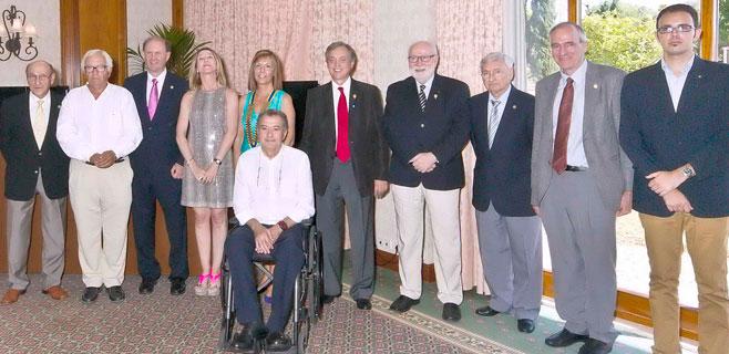 El Rotary Club Mallorca premia a la reina Sofía