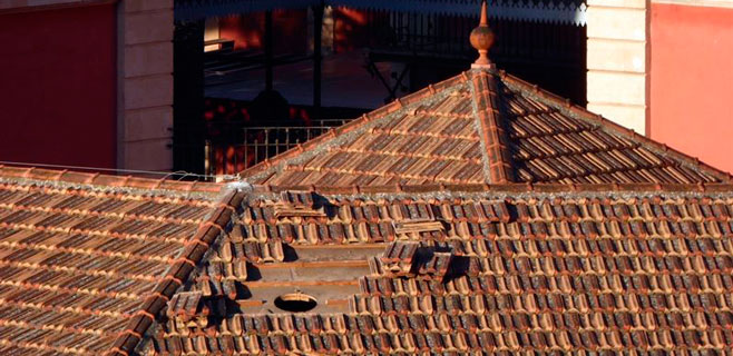 ARCA denuncia que unas obras han perforado el tejado de s'Escorxador