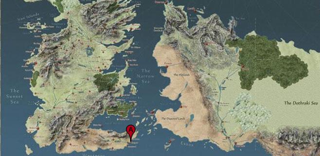 Editada una versión Google Maps de Juego de tronos
