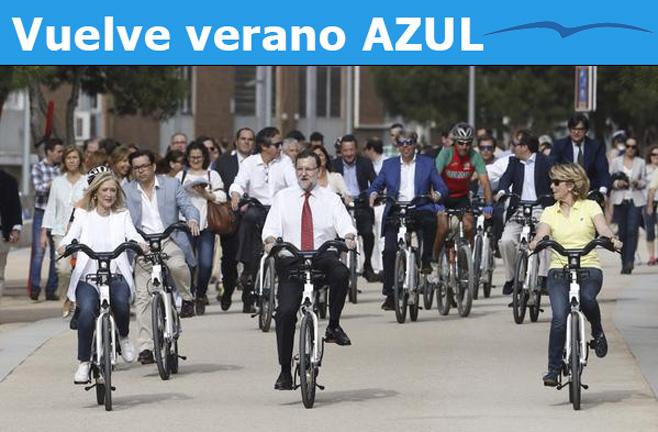 Rajoy, de serie