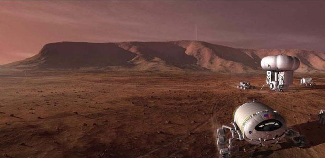 Concurso para diseñar una casa en Marte