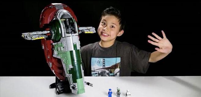 Un niño de 9 años gana 1 millón al año en Youtube