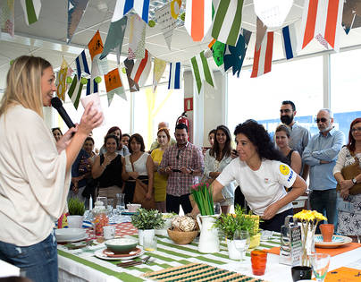 Marta Simonet nos enseña a 'alimentar' nuestra creatividad en Mésame Mucho