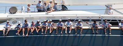 'Marie', 'Kiboko' y 'Maegan' ganan la segunda regata Superyacht Cup Palma 2015