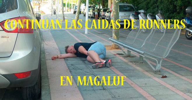 Los runners de Magaluf