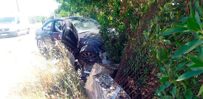 Tres heridos tras saltarse un coche un stop en Marratxinet y chocar contra otro