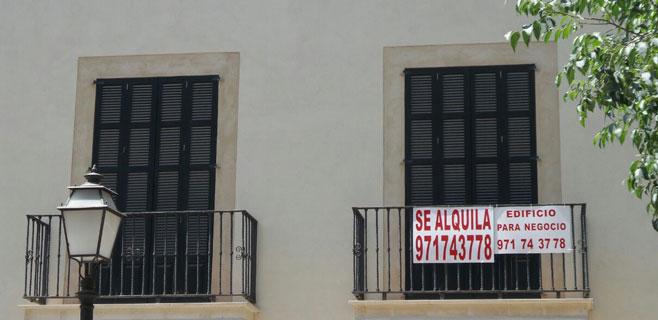 El precio del alquiler cae un 4,09% en Balears en el primer semestre del año