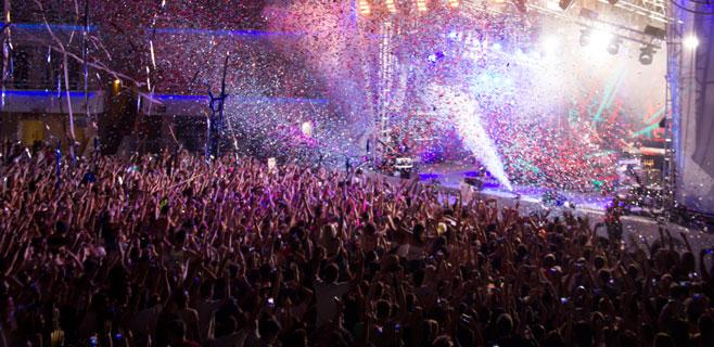 El Dj Aoki reúne a más de 3.000 personas en BH Mallorca