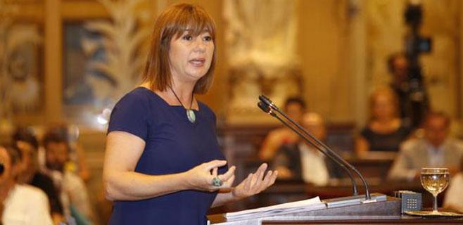 Armengol insta al PP a que defienda en Madrid un mejor reparto del déficit