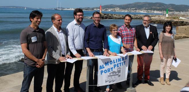 Cort mantiene su posición en contra de la ampliación del Club Marítimo Molinar