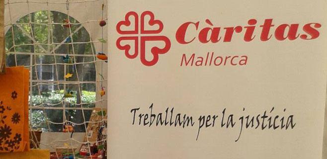 Cáritas tuvo que atender a 10.000 personas en Mallorca durante 2014