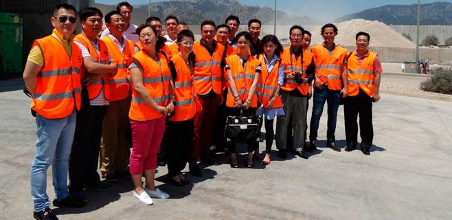 Visita a Mac Insular de empresas chinas recicladoras