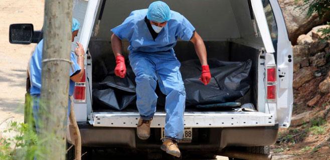 Hallados 10 cadáveres en fosas comunes de Acapulco